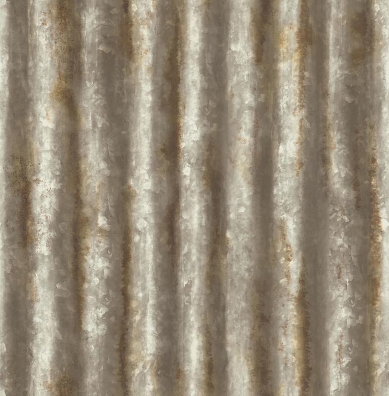 Dutch Wallcoverings Trilogy Behang FD22334 Metaal/Staal/Strepen
