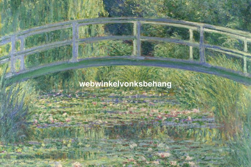 Dimex Fotobehang Water Lily Pond-Claude Oskar Monet MS-5-0255 Schilderij/Kunst/Waterlelie