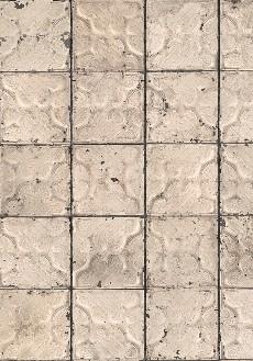 Arte Brooklyn Tins Behang Tin-03 Tegel/Vintage/Verweerd/Nostalgisch