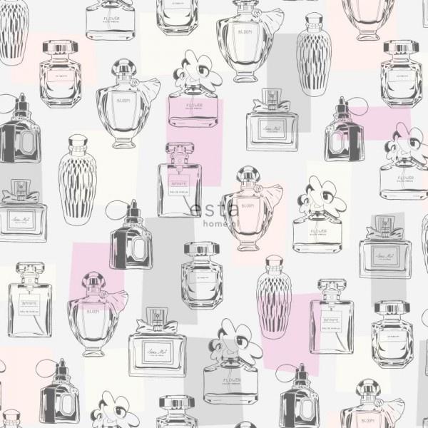 Esta Home #FAB Behang 138856 Tiener/Meisjes/Parfum Behang
