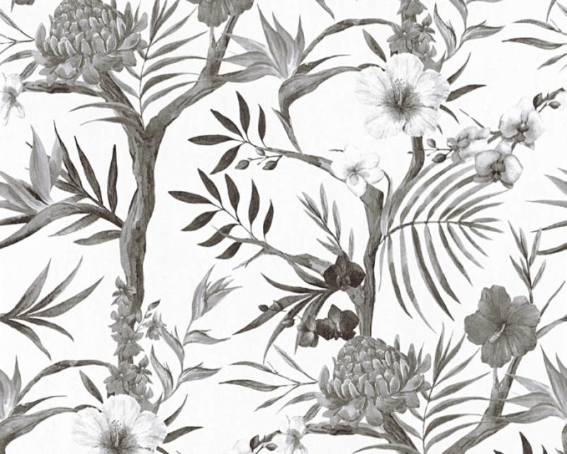 AS Creation Behang 36202-2 Botanisch/Planten/Bomen Behang