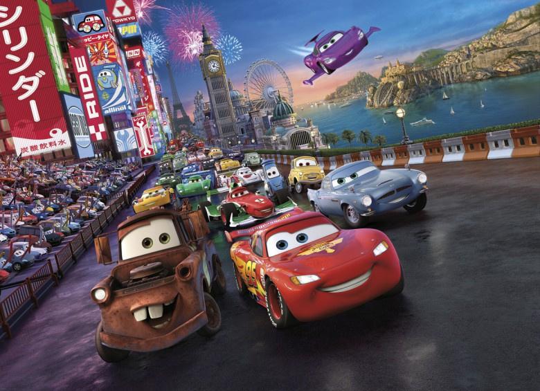 Disney 4-401 Cars Race Fotobehang  -  Noordwand