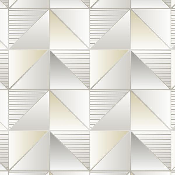 Rasch Galerie Geometrix Behang GX37631 Geometrisch/Modern/Norwall/Driehoek