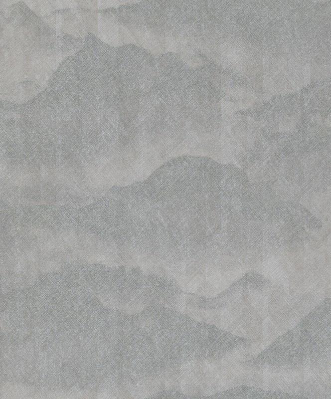 BN Wallcoverings/Voca Zen Behang 220313 Misty Mountain/Bergen/Mist/Landschap/Natuurlijk/Modern