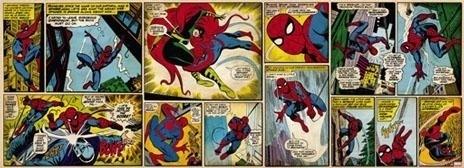 Behang. 1-435 Spiderman comic-Komar