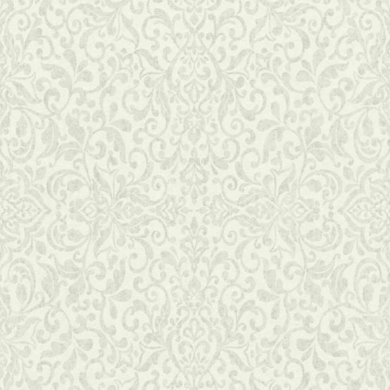 Rasch Amiata 296135 Barok/Ornament/Klassiek/Etnisch/Groen Behang