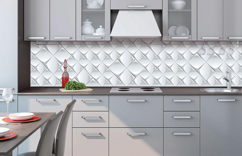 Wonderlijk Dimex Zelfklevende Keuken Achterwand Art Wall KL-260-095 Modern/3D ZU-51
