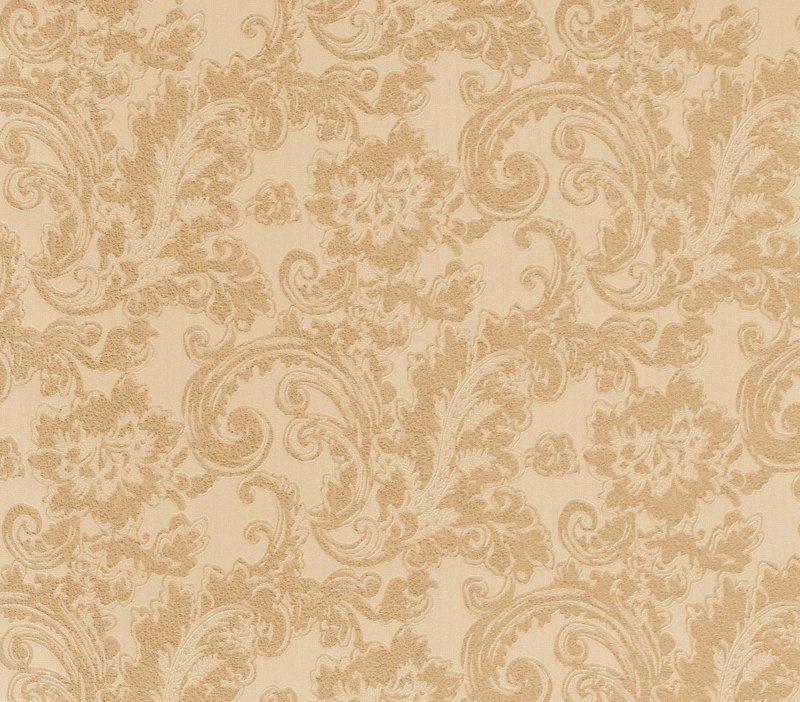 At Walls Odea Behang 46802 Barok/Ornament/Bloemen/Klassiek/Landelijk/Rood/Goud