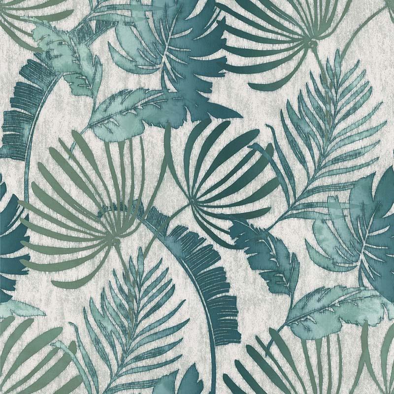 Noordwand Sejours & Chambres Behang 11191404 Botanisch/Natuurlijk/Bladeren/Jute Structuur