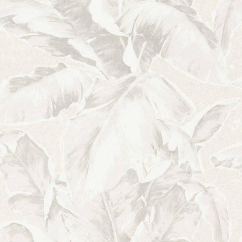 Rasch Amiata 296043 Botanisch/Bladeren/Bananenblad/Natuurlijk/Ecru Behang