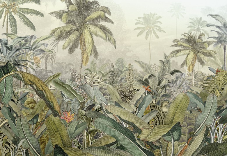 Komar Stories XXL4-063 Amazonia /Botanisch Fotobehang - Noordwand