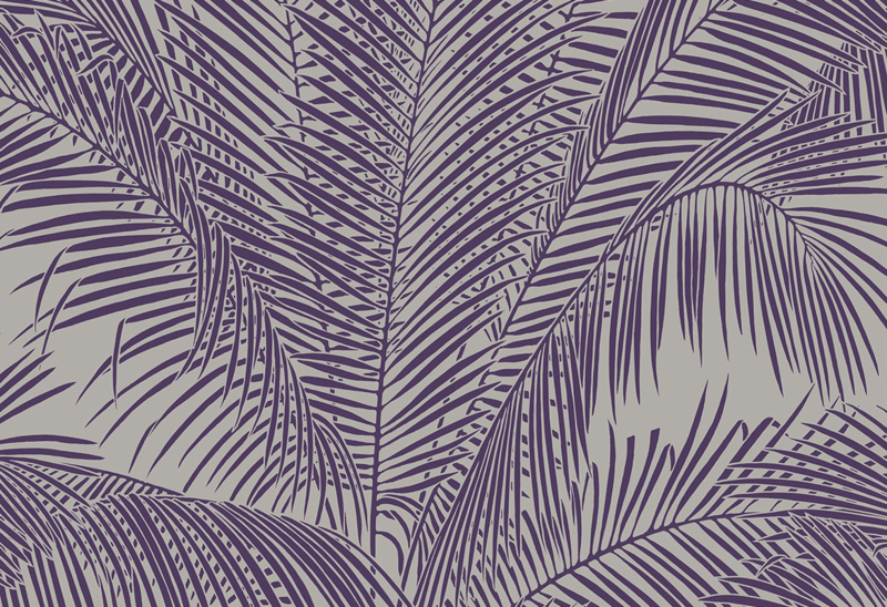 Hookedonwalls Exotique Behang 17241 Sabal/Botanisch/Bladeren/Palmbladeren