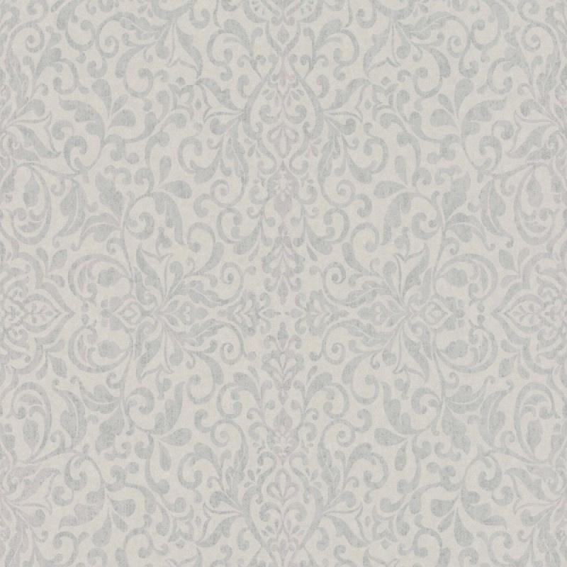 Rasch Amiata 296159 Barok/Ornament/Klassiek/Landelijk/Grijs Behang