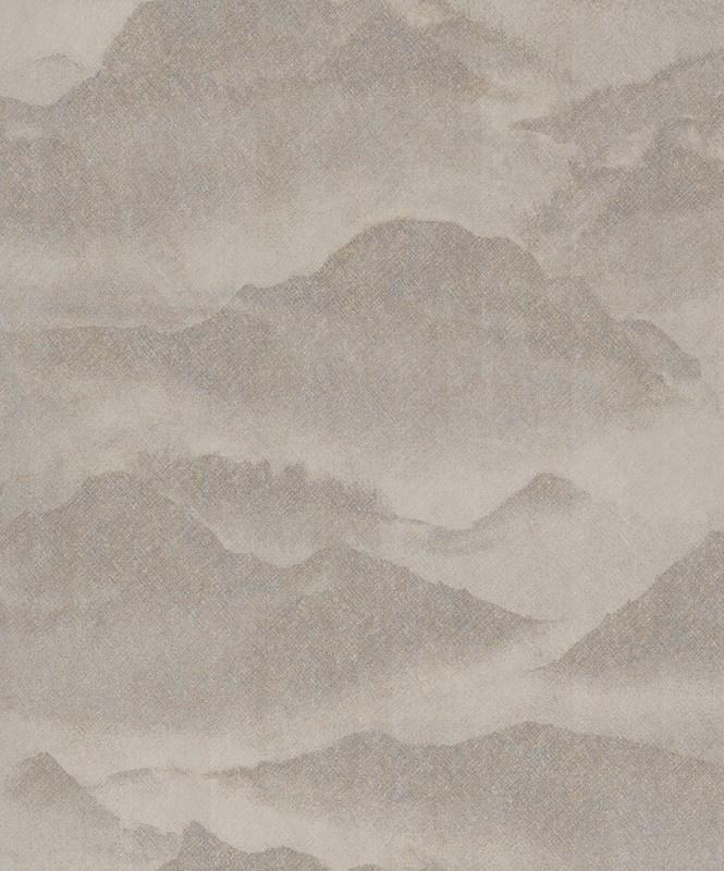 BN Wallcoverings/Voca Zen Behang 220312 Misty Mountain/Bergen/Mist/landschap/Natuurlijk/Modern