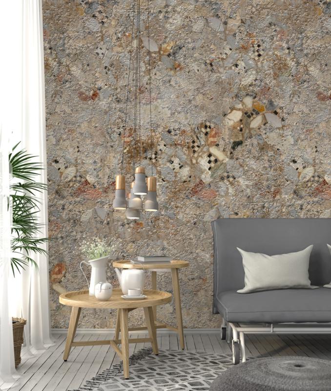 Behangexpresse Special Edition Ak1052 Material Mosaic Industrieel Vintage Steen Fotobehang Overzicht Deel 17 Vonk S Behang Webwinkel Behang