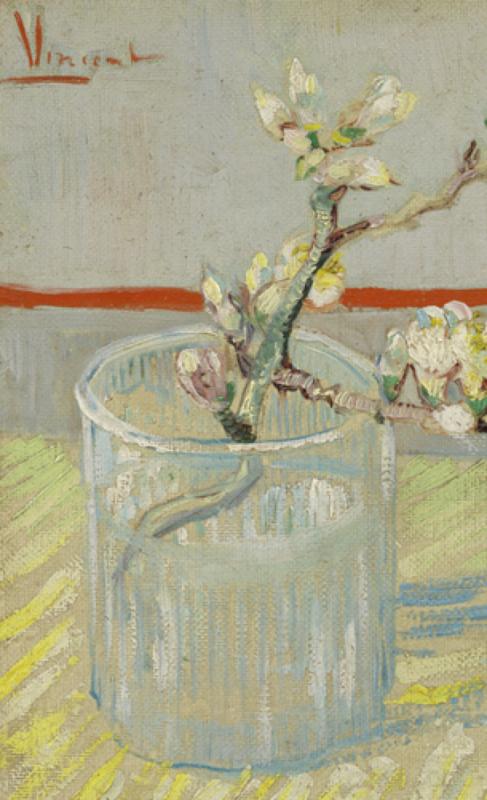 Van Gogh BN Wallcoverings Behang  30549 Amandeltak in Glas  Fotobehang