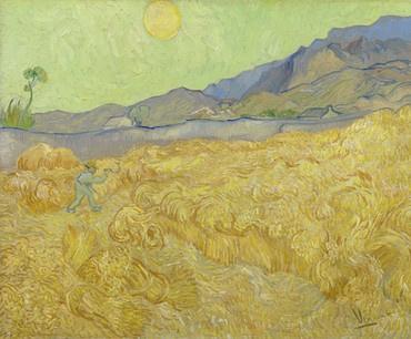 Van Gogh BN Wallcoverings Behang 30544 Korenveld/Natuur/Geel/Kunst Fotobehang