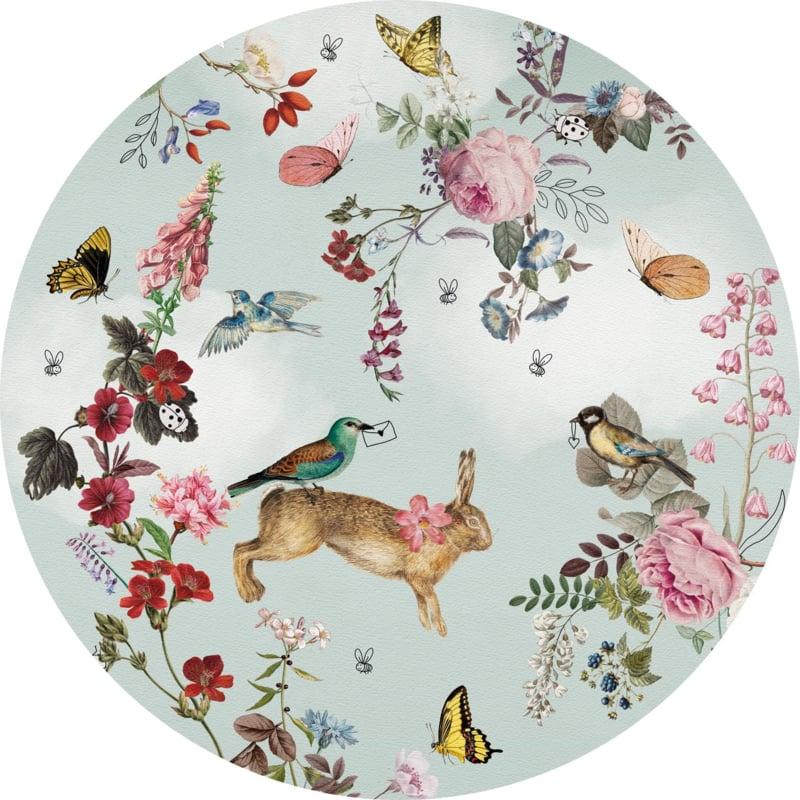 Behangexpresse Sofie & Junar Circle INK7689 Vintage Fairytale/Cirkel/Botanisch/Dieren