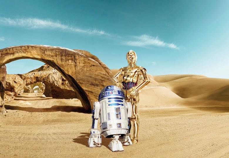 Disney 8-484 Star Wars Lost Droids Fotobehang  - Noordwand
