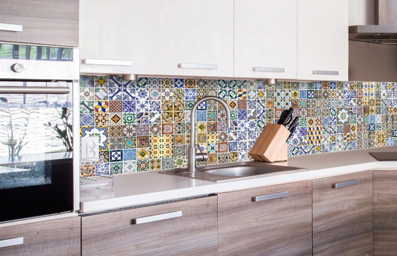 Dimex Zelfklevende Keuken Achterwand Portugal Tiles Kl 260 097 Tegels Mozaiek Vintage Overzicht Deel 10 Vonk S Behang Webwinkel Behang