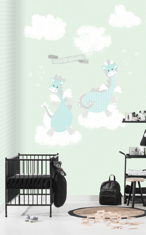 Behangexpresse Kay & Liv INK7025 Dino/Baby/Peuter/Kleuter Fotobehang