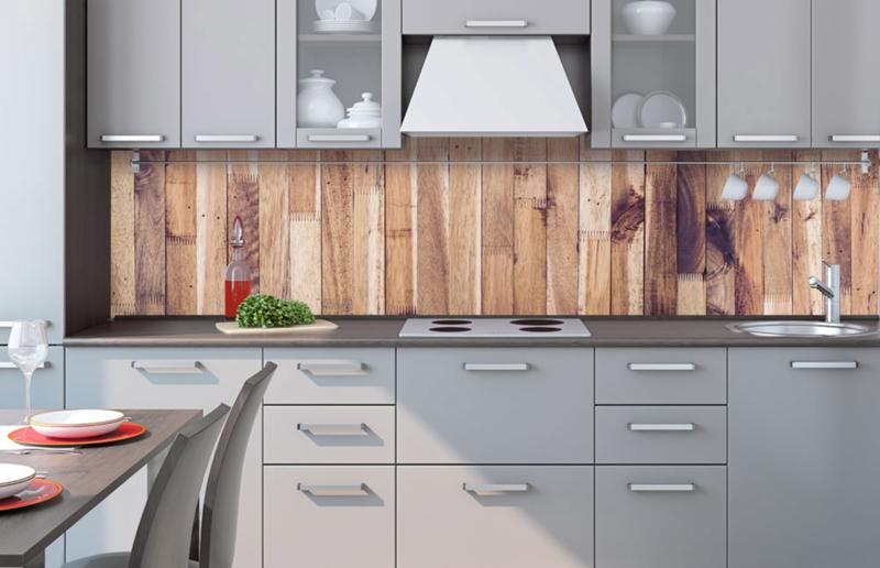 Verrassend Dimex Zelfklevende Keuken Achterwand Timber Wall KL-260-086 Hout XC-81