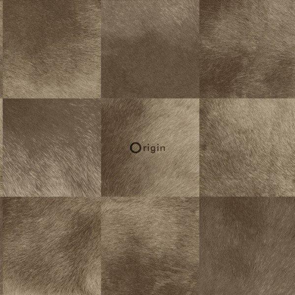 Origin Raw Elegance Behang 343-347325 Dieren/Huiden/Blok/Bruin