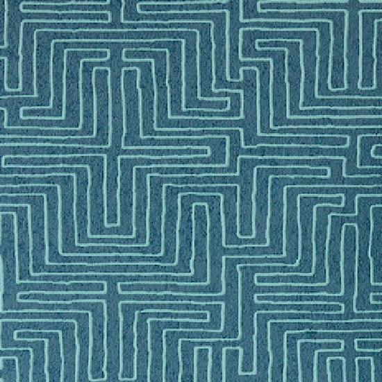 Eijffinger Siroc Behang 376060 Modern/Etnisch/Blauwtint