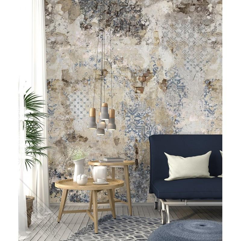 New Materials Fotobehang  INK7048 Valencia/Steen/Verweerd - Behangexpresse