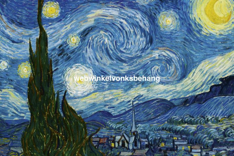 Dimex Fotobehang The Starry Night-Vincent van Gogh MS-5-0250 Kunst/Schilderij