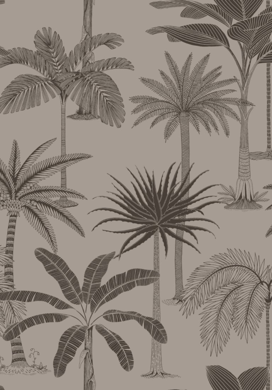 Hookedonwalls Jungle Jive Behang 36503 Bomen/Natuur/Planten