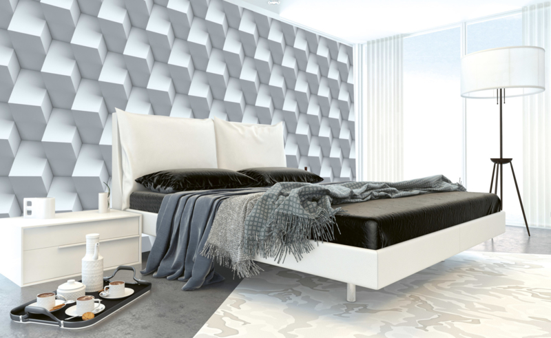 Dimex Fotobehang Cube Wall MS-5-0298 Modern/Kubus/3D