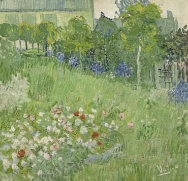 Van Gogh BN Wallcoverings Behang 30547 Daubigny's Garden/Natuur Fotobehang