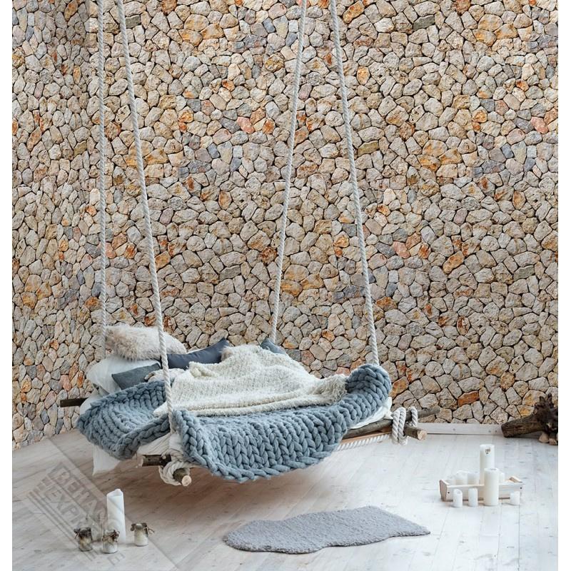 New Materials Fotobehang  INK7060 Guernsey/Steen/Klei - Behangexpresse