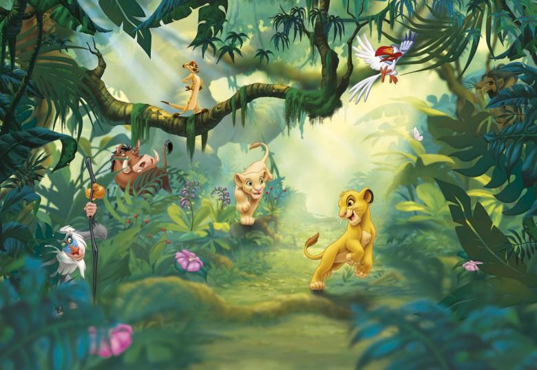 Disney 8-475 Lion King Jungle Leeuwenkoning Fotobehang  - Noordwand