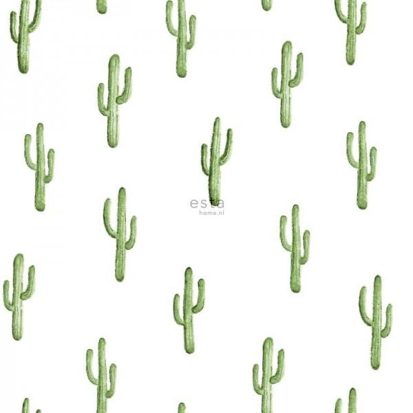 Esta Home Greenhouse Behang 143-138899 Natuurlijk/Planten/Cactus