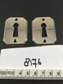 nr. 8176 setje bauhaus sleutelrozetten