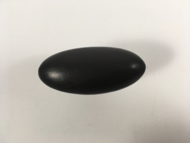 nr.1 knop zwart ei 54mm