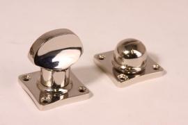 nr.3 wc sluiting blinkend nikkel (passend bij tonmodel)