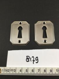 nr. 8179 setje bauhaus sleutelrozetten