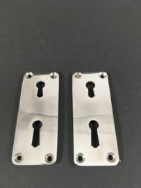 nr. BE15 bauhaus sleutelrozet voor dubbel slot