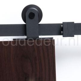 Extra rails voor hangsysteem voor schuifdeuren