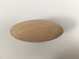 nr.1 knop beukenhout ei 54mm