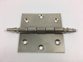 nr.1 scharnier vaaskop 76mm, nikkel