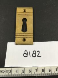 nr. 8182 art deco sleutelrozet