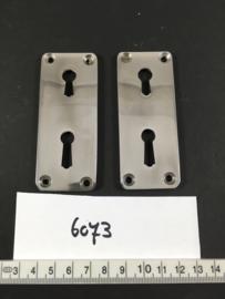 nr. 6073 set sleutelrozetten voor dubbel slot