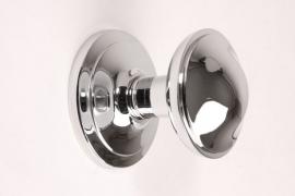 nr.4 deurknop blinkend chroom