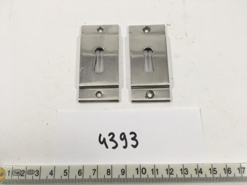 nr. 4393 setje bauhaus sleutel rozetten