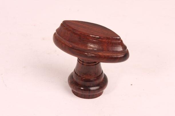 nr.2 knop rozenhout ril 55mm