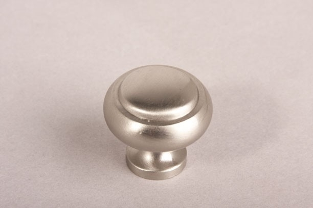 nr.3 knopje geborsteld nikkel